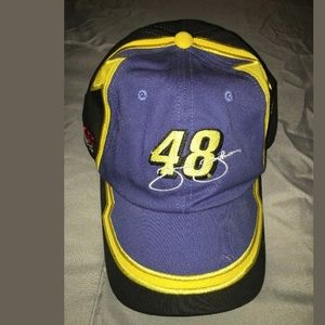 Jimmie Johnson NASCAR Hat #48 with his signature